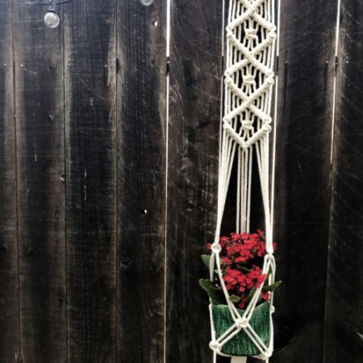 Macrame Hanging Planter 2.0 Workshop