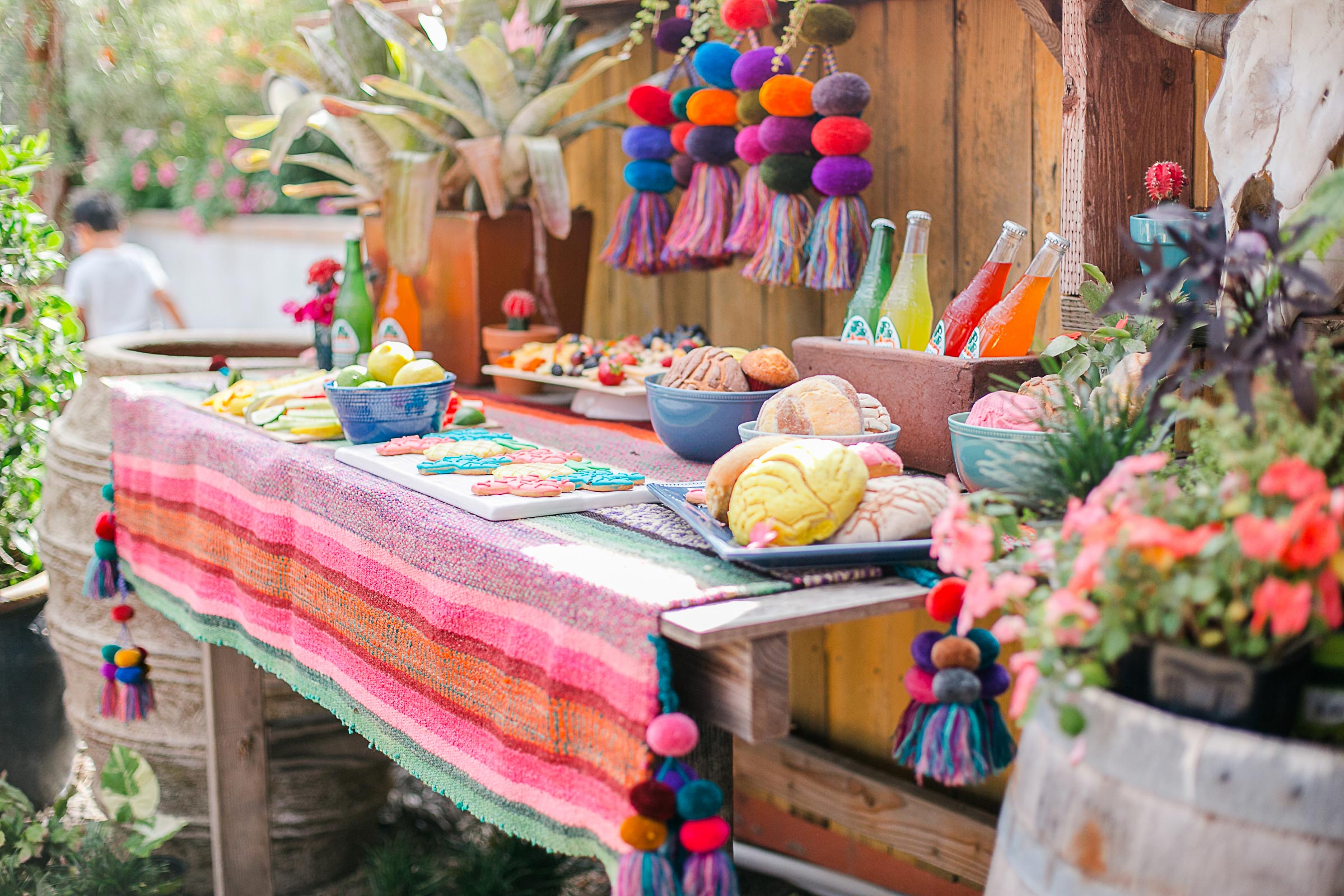 Mexican Bridal Shower Style Shoot Barrels Amp Branches Nursery