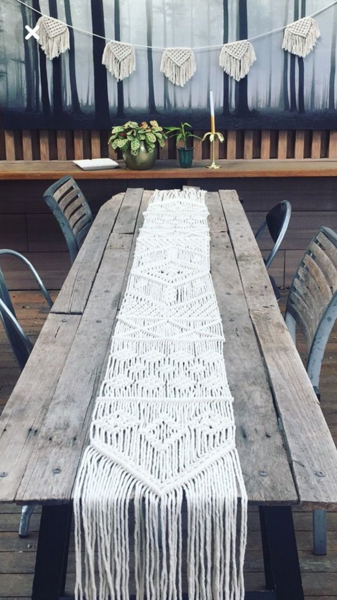SOLD OUT — Macrame Table Runner Workshop