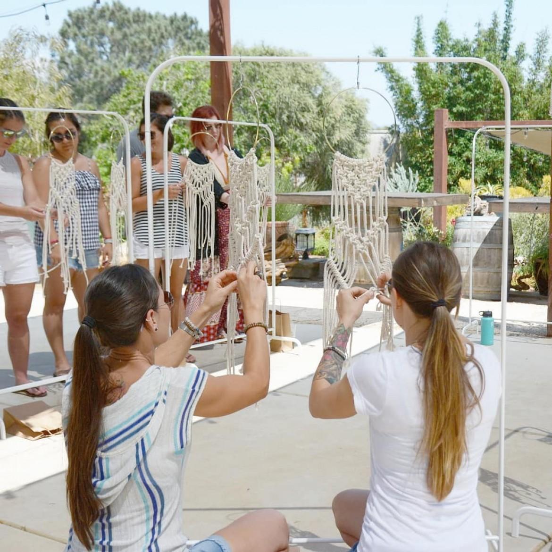 Macrame Hoop Wall Hanging Workshop